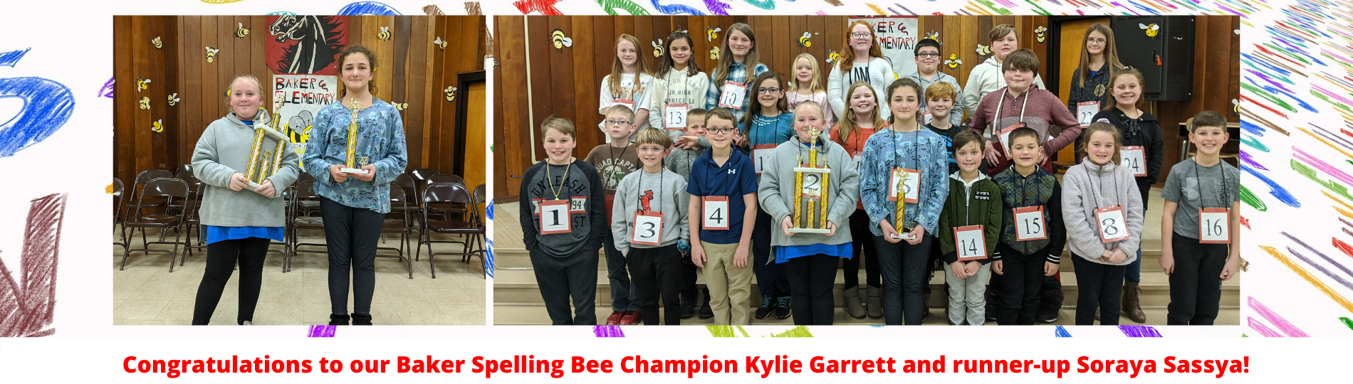 Baker Spelling Bee Competition